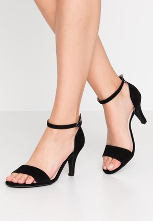WIDE FIT BIAADORE BASIC  - Sandals - black
