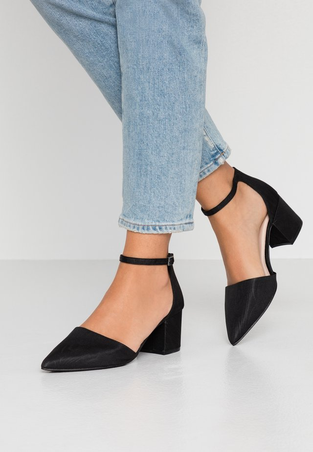 WIDE FIT BIADIVIDED - Classic heels - black