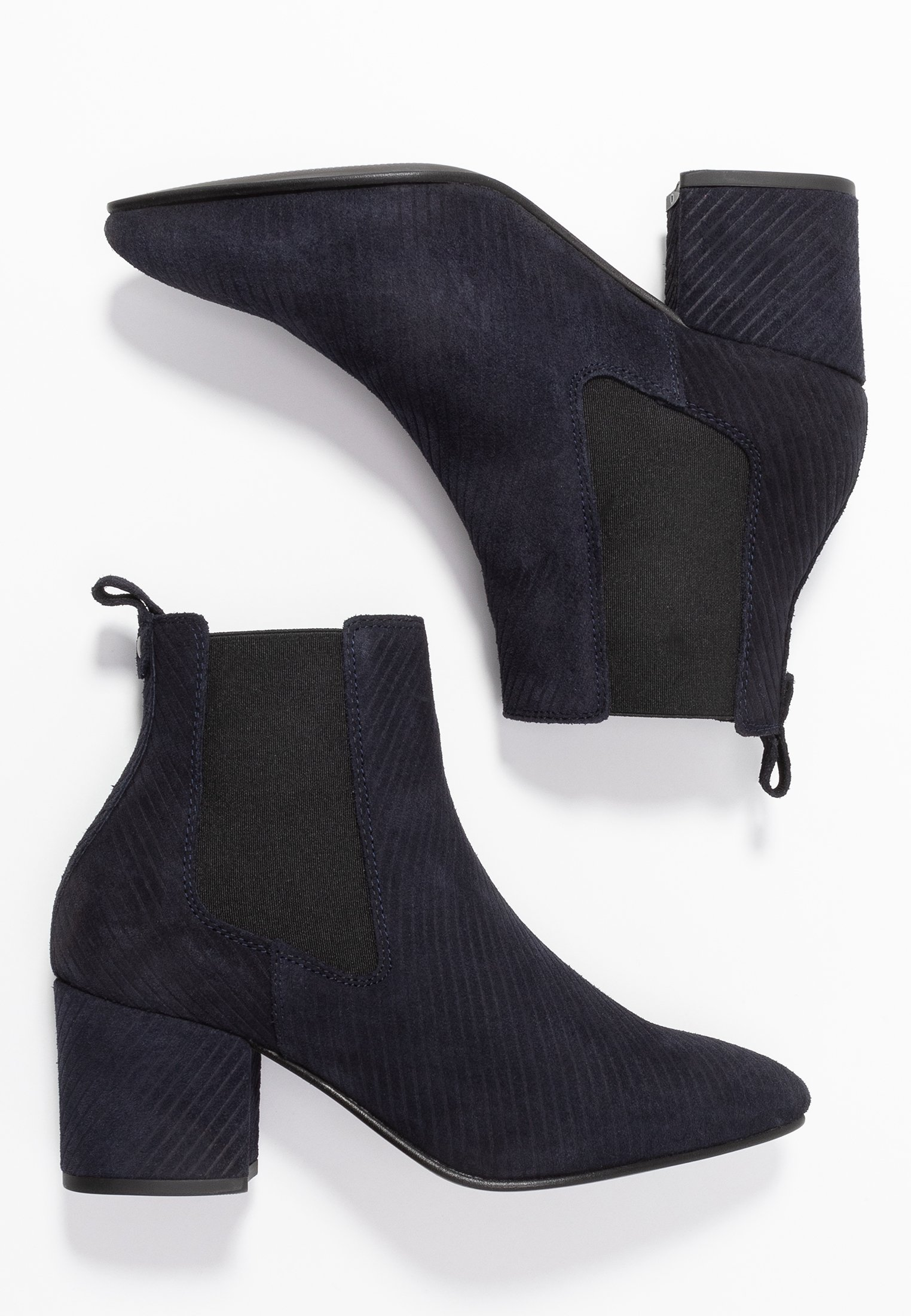 Bianco Wide Fit WIDE FIT BIACIA CHELSEA - Ankle boots - navy blue