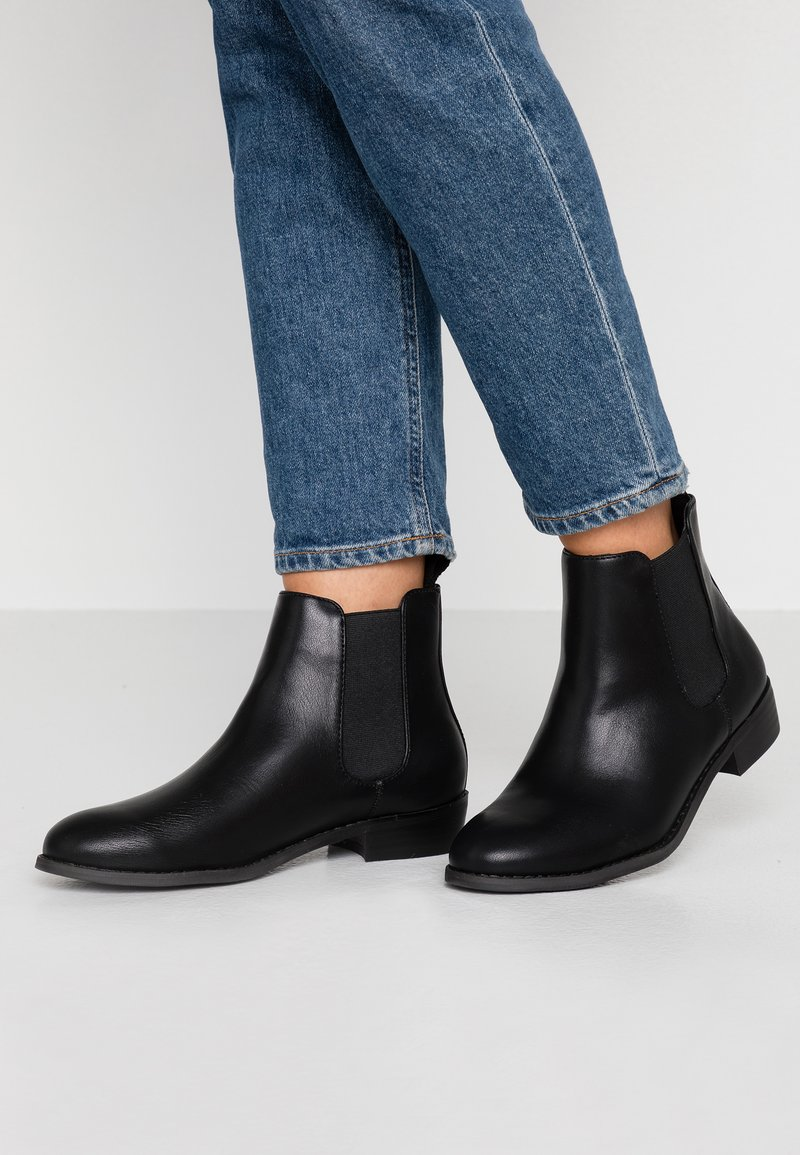Bianco Wide Fit - WIDE FIT BIABELENE CLASSIC CHELSEA - Ankle boot - black