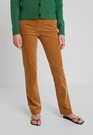 NANNA PANTS - Kalhoty - camel