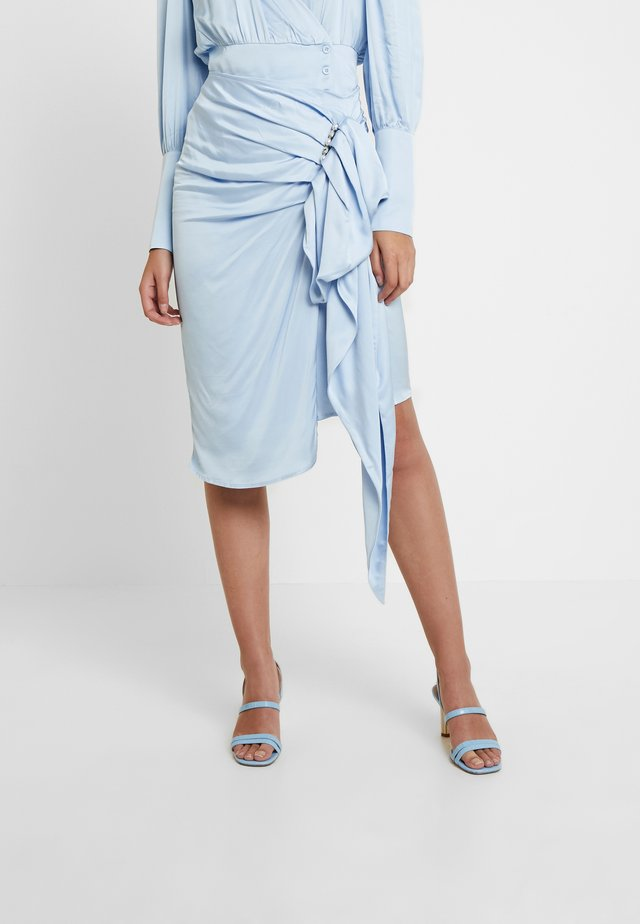 MARYLIN SKIRT - A-Linien-Rock - powder blue