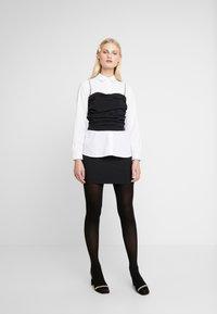 Birgitte Herskind - ILS SKIRT - Minikjol - black - 1