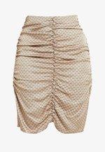 AURA SKIRT - Pencil skirt - smoke grey