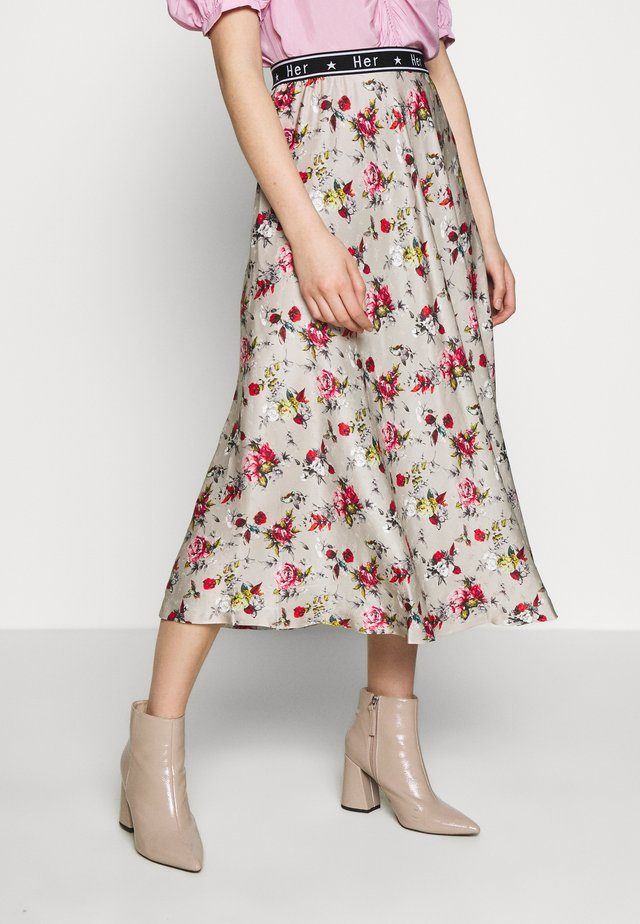 SIASKIRT - A-linjekjol - vintage rose