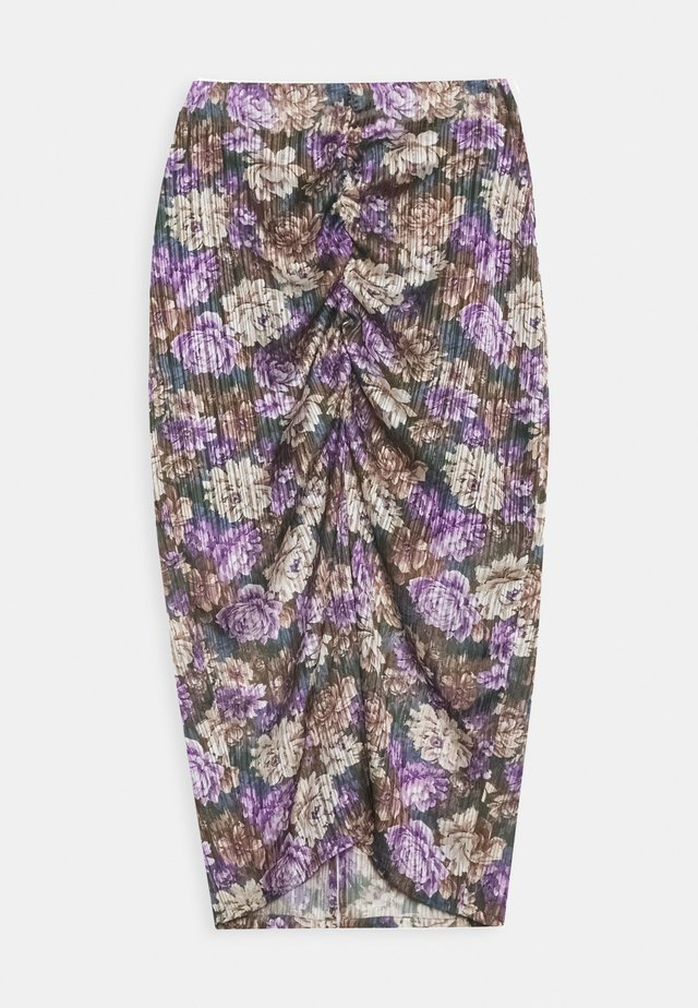 ALEXIS SKIRT - Pouzdrová sukně - purple