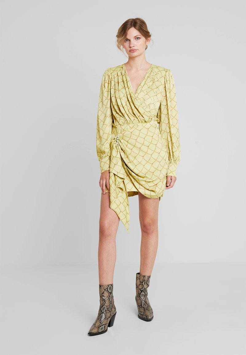 Birgitte Herskind - GEORGUS DRESS - Cocktailjurk - pastel yellow