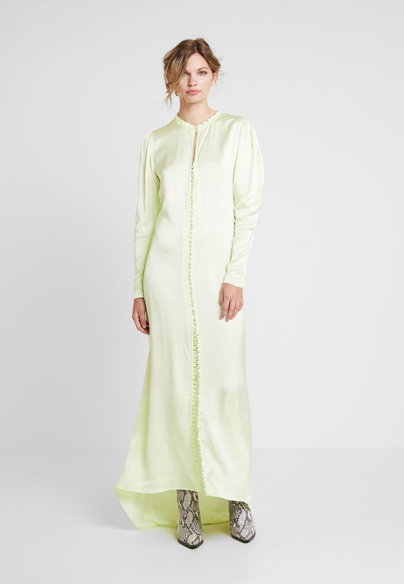 Birgitte Herskind - SULLY LONG DRESS - Galajurk - pastel lime