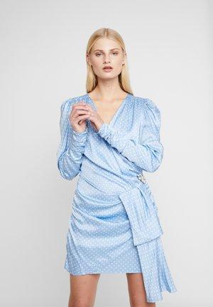CIRCA DRESS - Vestido de cóctel - dust blue
