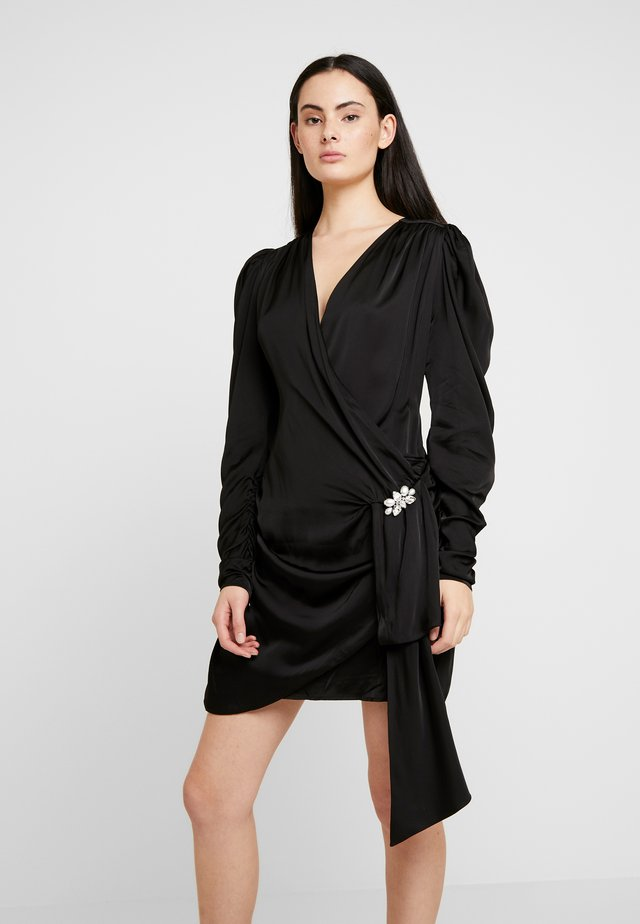 CIRCA DRESS - Cocktail dress / Party dress - black