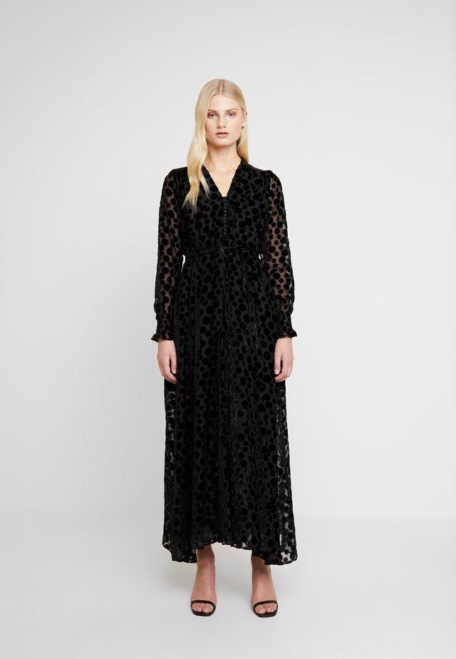PAULA LONG DRESS - Festklänning - black