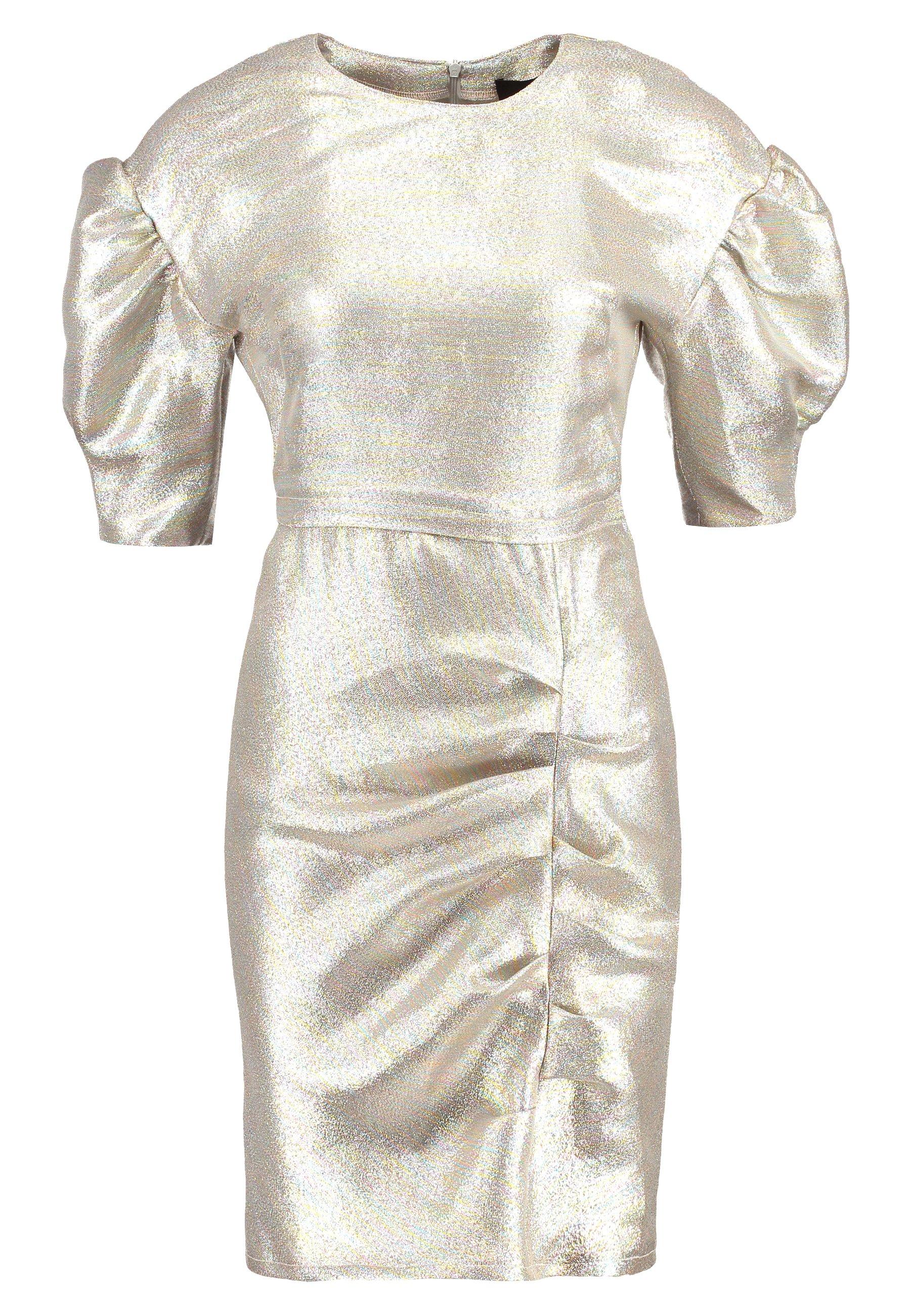 Birgitte Herskind BAKER DRESS - Sukienka koktajlowa - silver