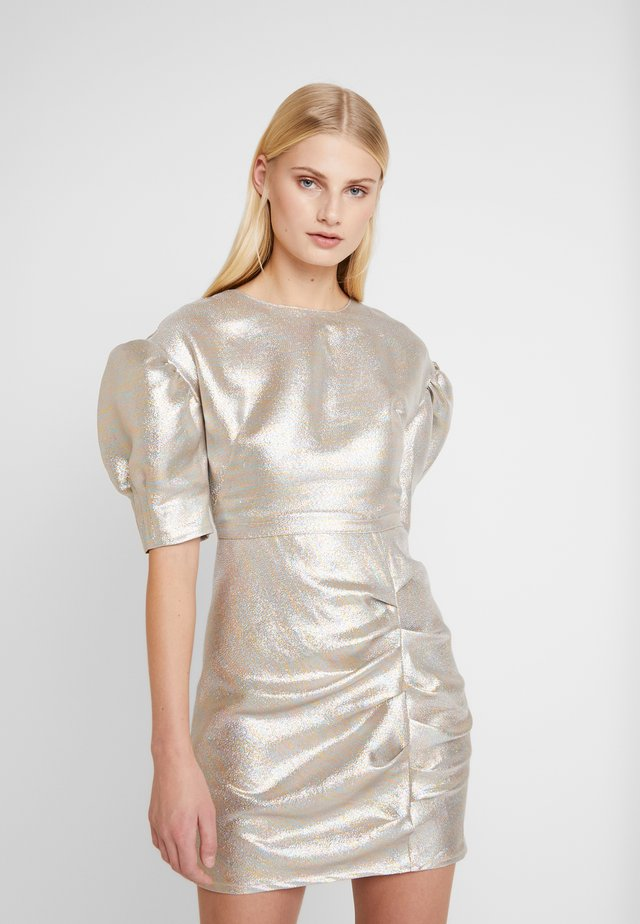 BAKER DRESS - Vestito elegante - silver