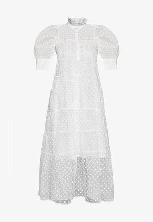 RIO DRESS - Shirt dress - white