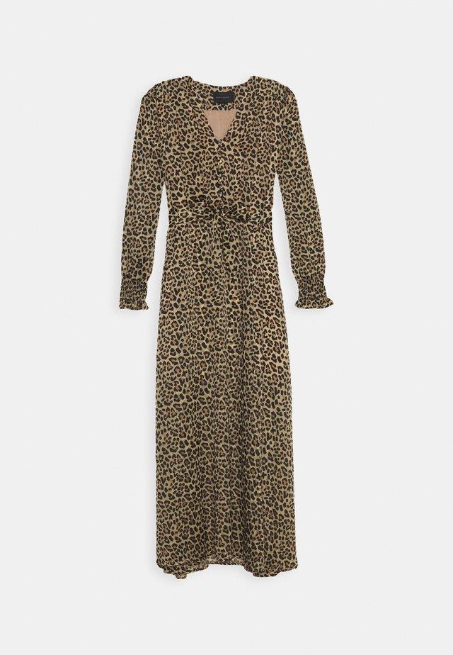 PAULA DRESS - Maxi šaty - brown