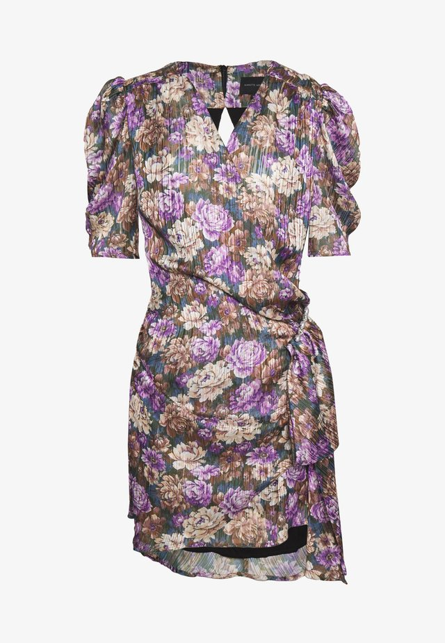 KATHINKA MINI DRESS - Cocktail dress / Party dress - purple