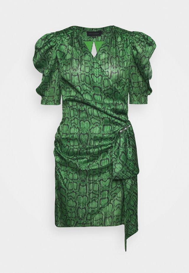 KATHINKA MINI DRESS - Cocktailjurk - green