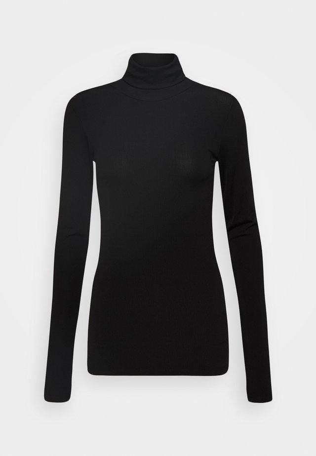 BEA BLOUSE - Maglietta a manica lunga - black
