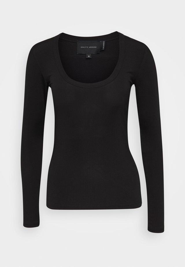INDY - Maglietta a manica lunga - black