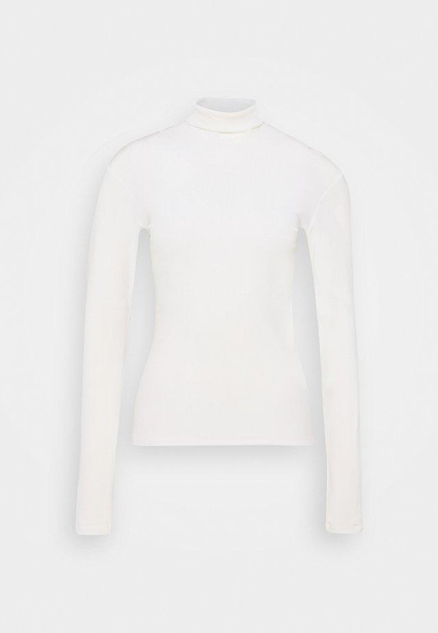 BEA BLOUSE - Maglietta a manica lunga - white