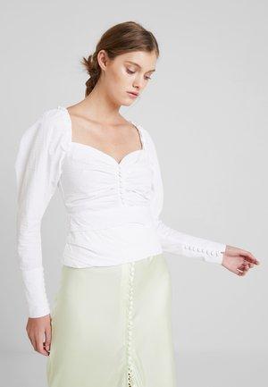 GABRIELLA BLOUSE - Camicetta - white