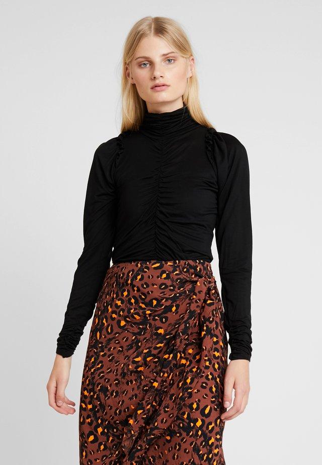 GREDA - Långärmad tröja - black