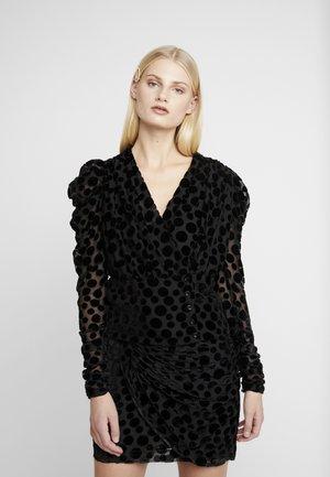 CATJA BLOUSE - Blouse - black