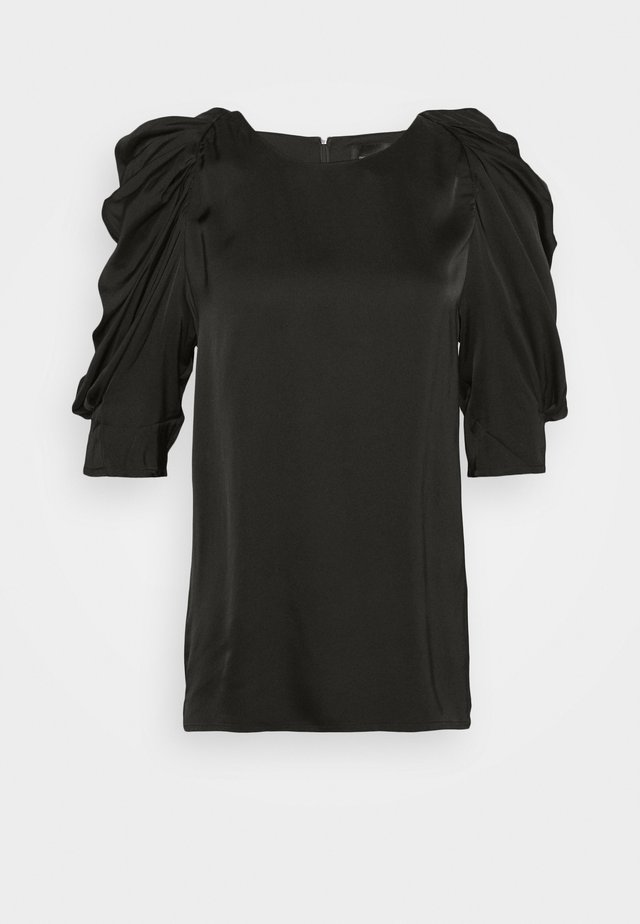CHARLOTTE BLOUSE - Bluse - black