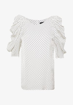 CHARLOTTE BLOUSE - Blůza - white/black