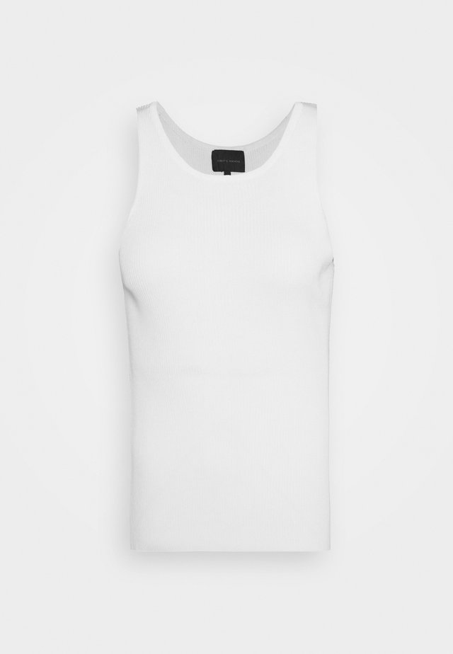 CLAIRE TANK - Top - white
