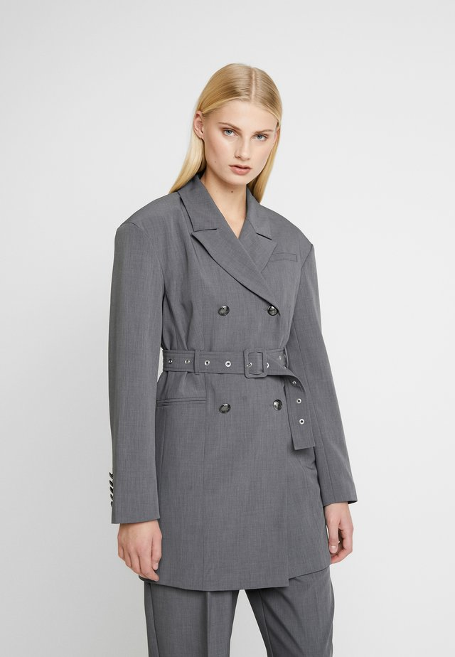 INGRID - Short coat - grey