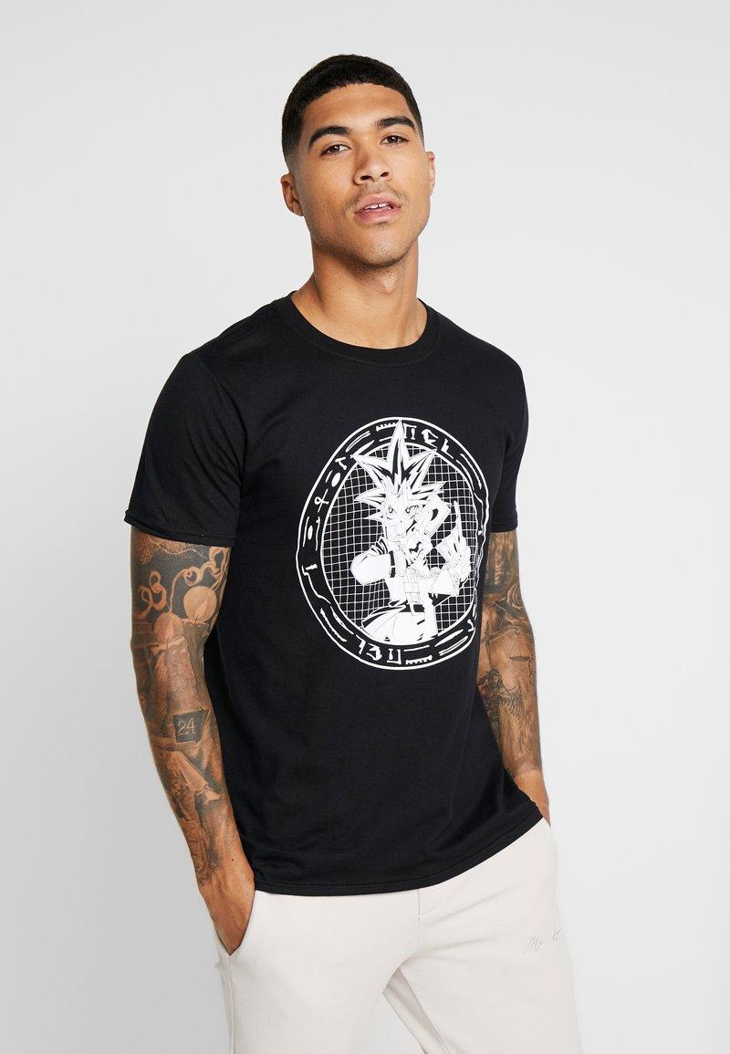 Bioworld - YU GI OH ANIME TEE - T-shirts med print - black