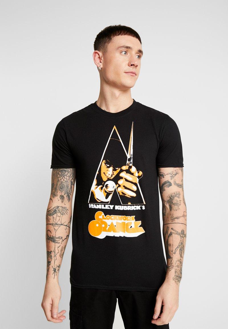 Bioworld - CLOCKWORK TEE - T-shirt med print - black
