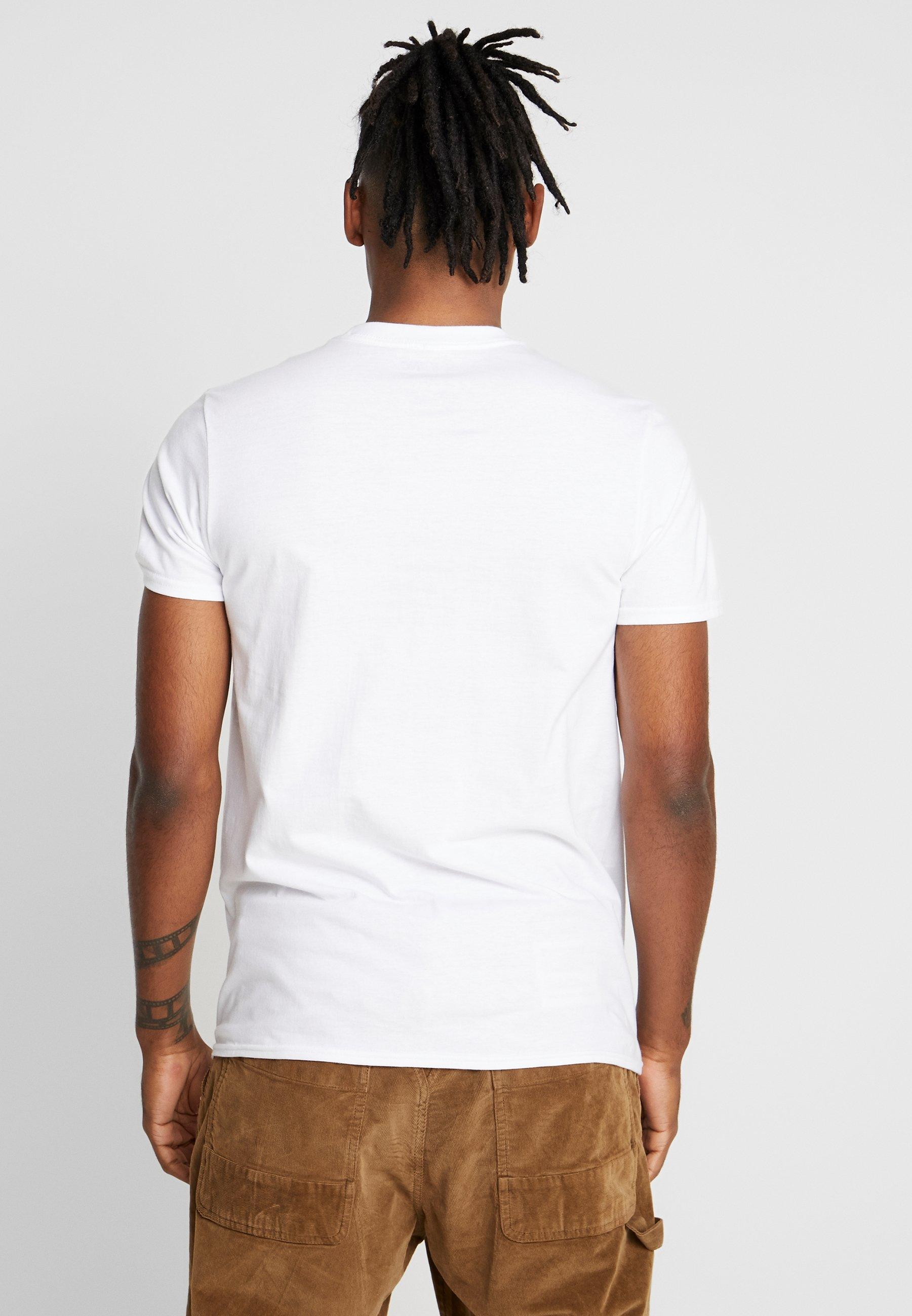 The White Shining Stampa Bioworld TeeT shirt Con KJcuT13Fl5