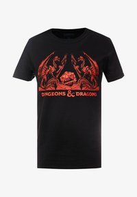 Bioworld - DUNGEONS & DRAGONS TEE - T-shirts med print - black - 3