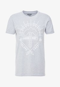 Bioworld - MINECRAFT ART TEE - T-shirts med print - Grey - 4