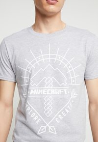Bioworld - MINECRAFT ART TEE - T-shirts med print - Grey - 5