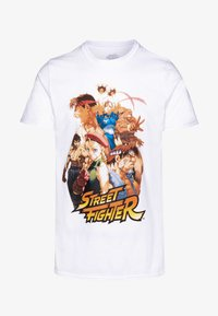 Bioworld - STREET FIGHTER TEE - Triko s potiskem - white - 4