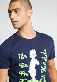Bioworld - MOB PSYCHO TEE - T-shirts med print - navy - 3