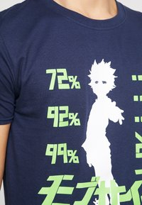 Bioworld - MOB PSYCHO TEE - T-shirts med print - navy - 5