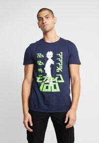Bioworld - MOB PSYCHO TEE - T-shirts med print - navy - 0