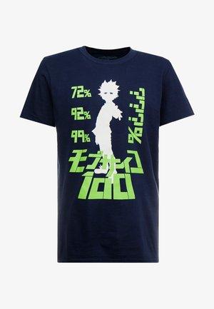 MOB PSYCHO TEE - Print T-shirt - navy