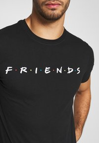 Bioworld - FRIENDS LOGO TEE - Triko s potiskem - black - 5