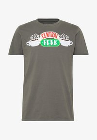 Bioworld - FRIENDS CENTRAL PERK TEE - Triko s potiskem - charcoal - 4