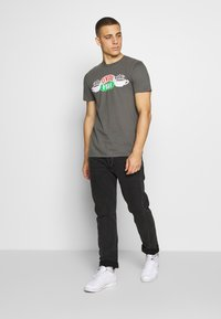 Bioworld - FRIENDS CENTRAL PERK TEE - Triko s potiskem - charcoal - 1