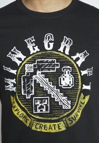 Bioworld - MINECRAFT - T-shirt print - black - 5