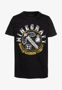 Bioworld - MINECRAFT - T-shirt print - black - 4