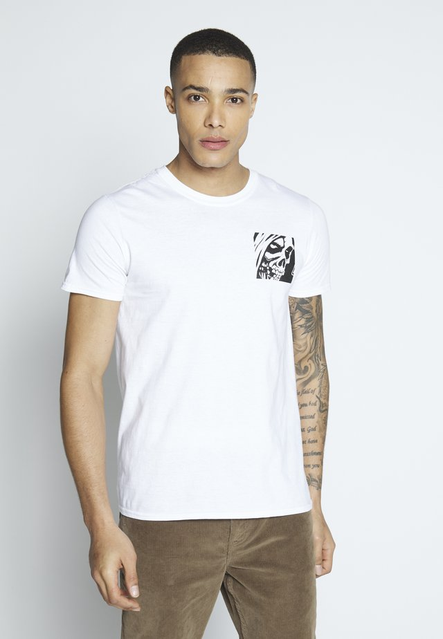 MISFITS  - T-shirt med print - white