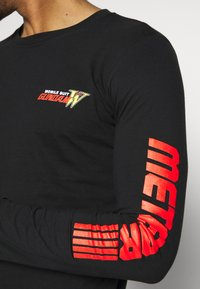 Bioworld - GUNDAM LONG SLEEVE CUFF TEE - Top s dlouhým rukávem - black - 5