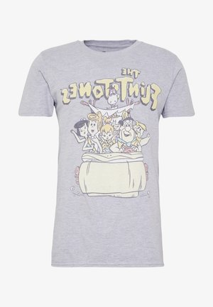 FLINSTONES TEE - T-shirt print - grey
